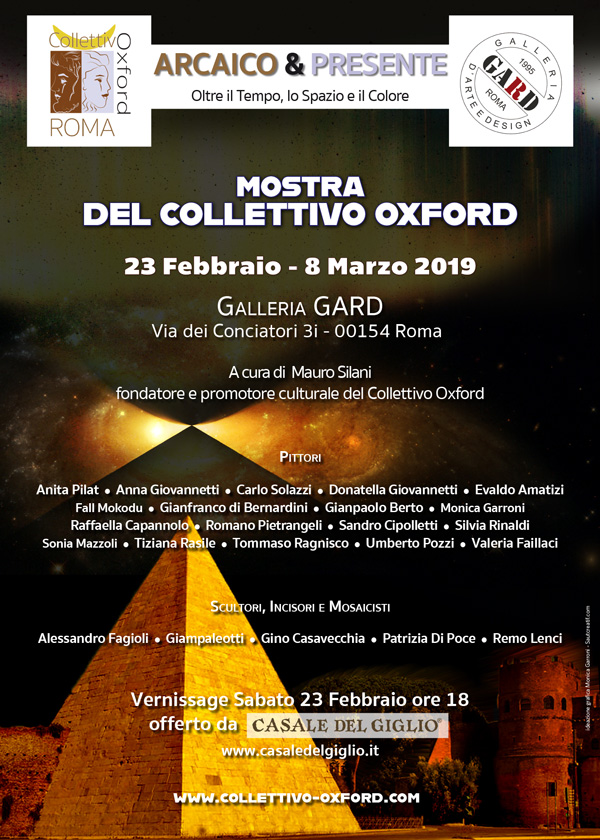manifesto mostra collettivo oxford galleria Gard 2019